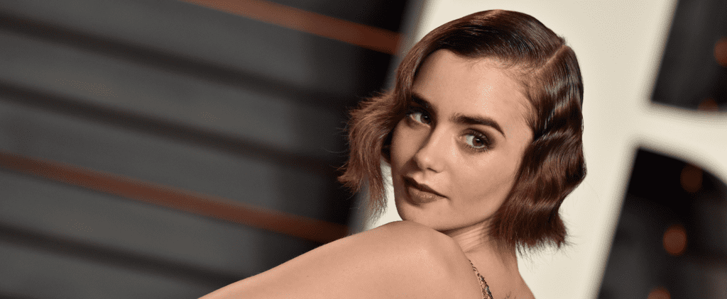 See Lily Collins's New Ruby-Red Hair From All Angles