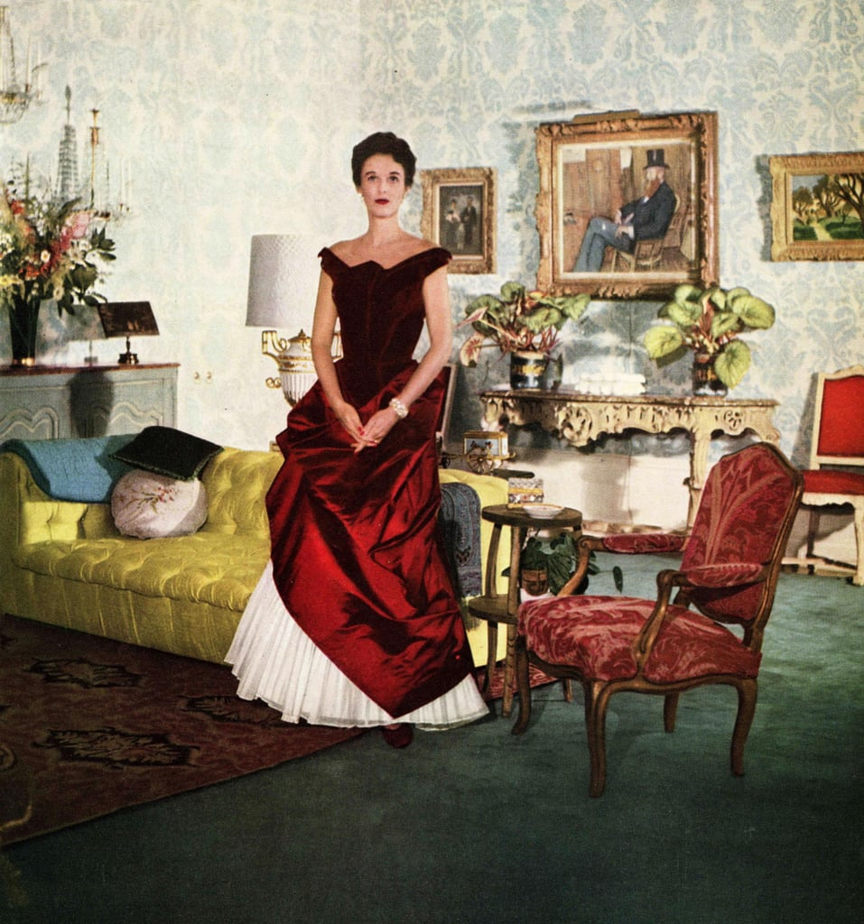 Inspired by Babe Paley in a Charles James Gown