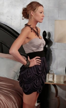 Gossip Girl Clothes Serena van der Woodsen Wears Yigal Azrouel