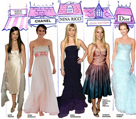 Fab Flash: Designer and Celeb Red Carpet Relations Strictly Business