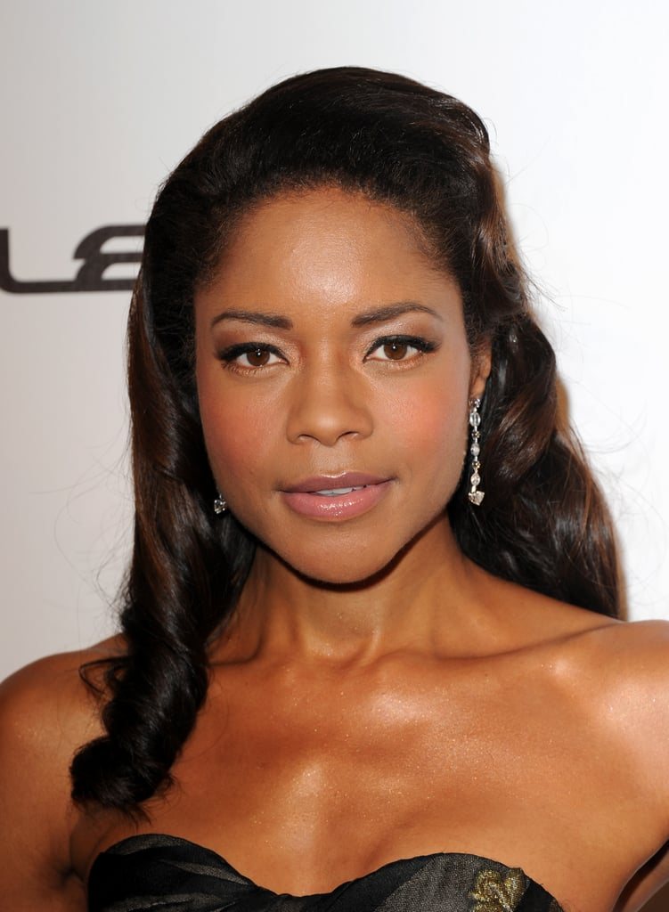 Naomie Harris opted for a classically neutral makeup look at the Cannes Film Festival that would flatter any bride-to-be.