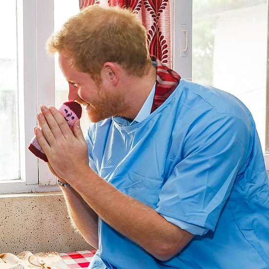 Prince Harry at Children's Hospital in Nepal 2016