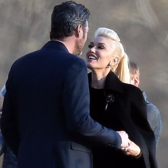 Gwen Stefani and Blake Shelton at RaeLynn's Wedding 2016
