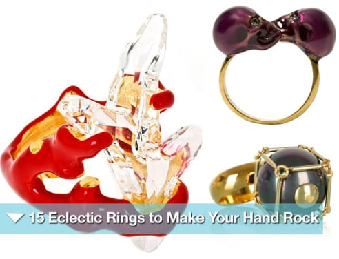 Sugar Shout Out: Eclectic Rings to Make Your Hand Rock