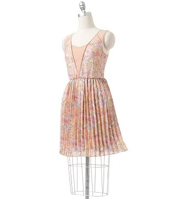If we were invited to a tea party, we'd probably just wear this.  LC Lauren Conrad Floral Mock-Layer Dress ($48, originally $64)