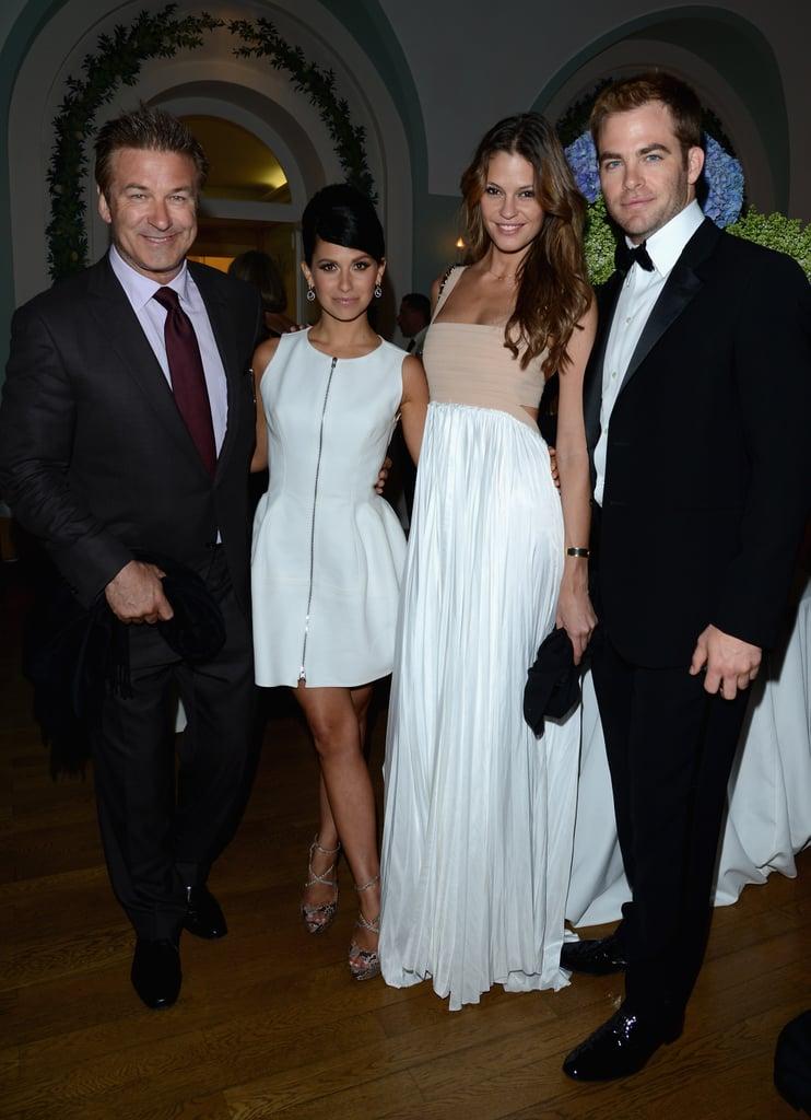 Vanity Fair and Gucci's Bash Brings Out Salma, Naomi, Jennifer and More