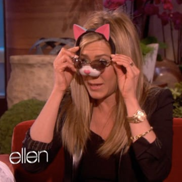 Jennifer Aniston Talking About Justin Theroux and Sophie
