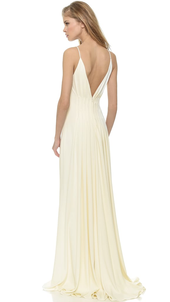 Badgley Mischka Collection Open Back Gown ($695)