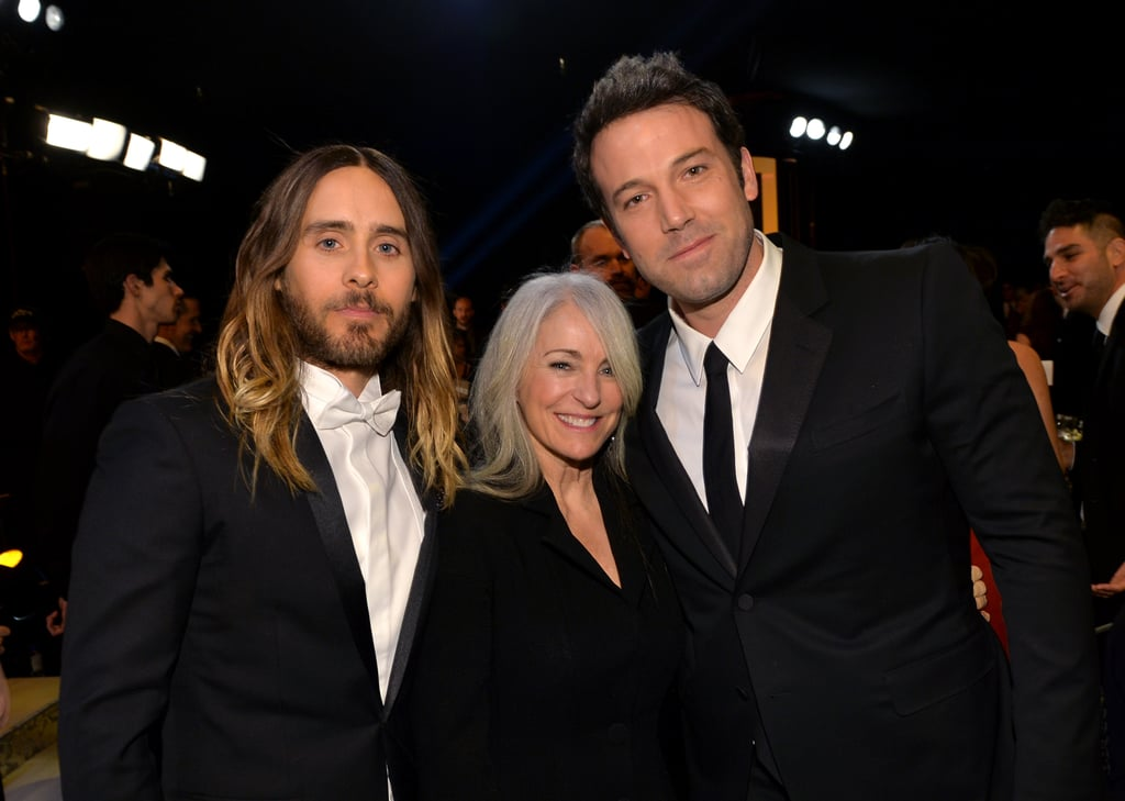 Ben even took a photo with Jared's mom!