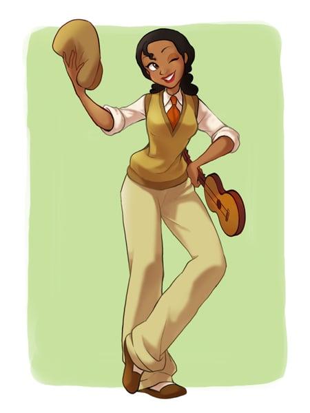 Cross-Dressing Tiana