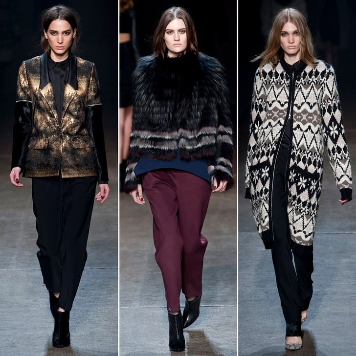 Our 11 Favorite Outerwear Pieces From Yigal Azrouël Fall 2013