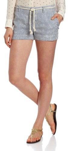 Michael Stars Women's Stripe Linen Short