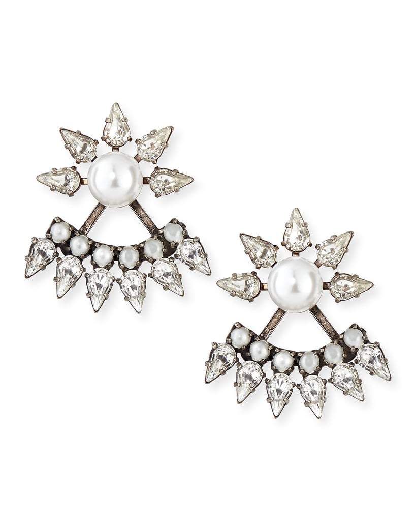 Consider these Dannijo jacket earrings ($245) the attention-grabbing accessory that anyone will flip for.