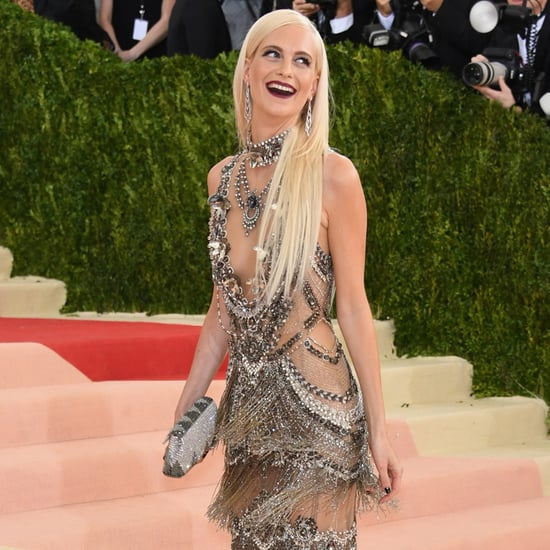 Poppy Delevingne Met Gala Marchesa Gown Pictures 2016