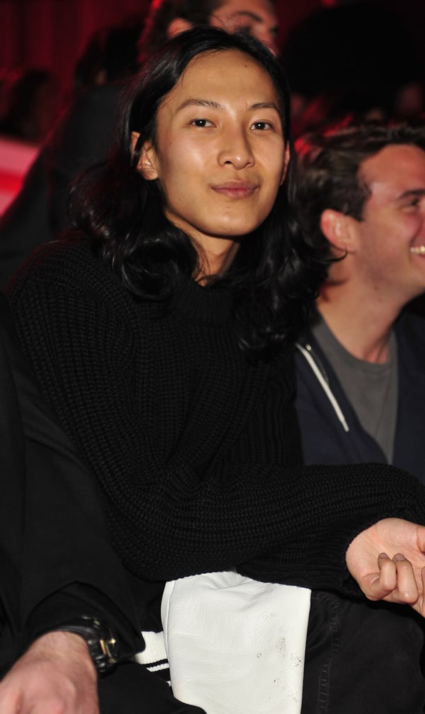 Alexander Wang attended the 2010 show with some fellow designers.