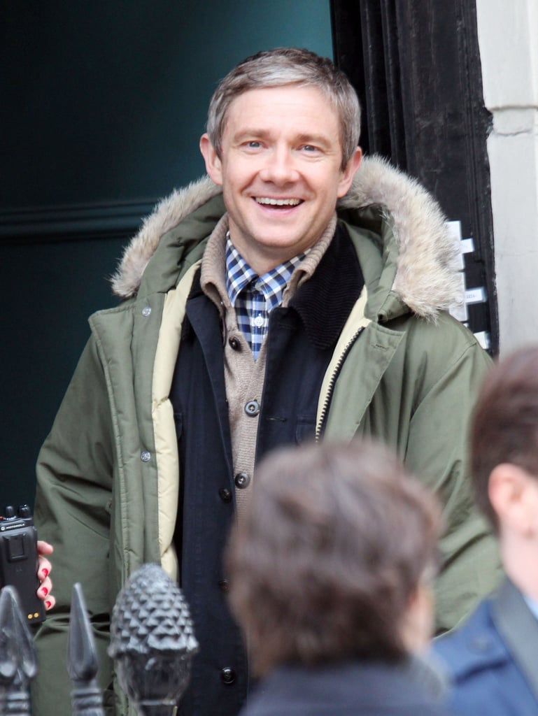 Martin Freeman channels Watson.