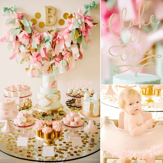 Sweet and Saucy! A Bow-Filled First Birthday Party