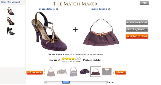 A Matchmaker For Shoes