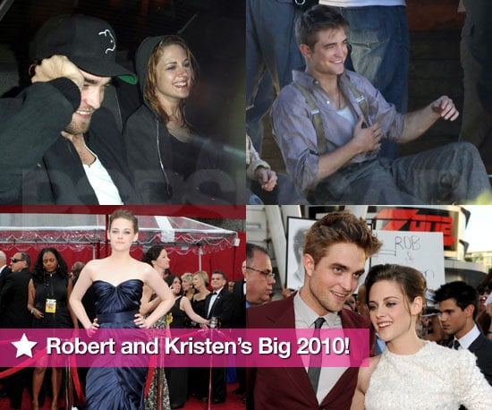 Best Pictures of Robert Pattinson and Kristen Stewart in 2010