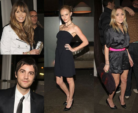Kate Bosworth, Mary-Kate Olsen, and Jim Sturgess at the 21 Afterparty