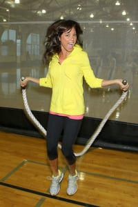 Vanessa Minnillo Working Out With Celebrity Trainer Gunnar Peterson For Her Wedding