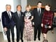 Giancarlo Giametti, Valentino Garavani, Anna Wintour, Tom Ford, and Julianne Moore