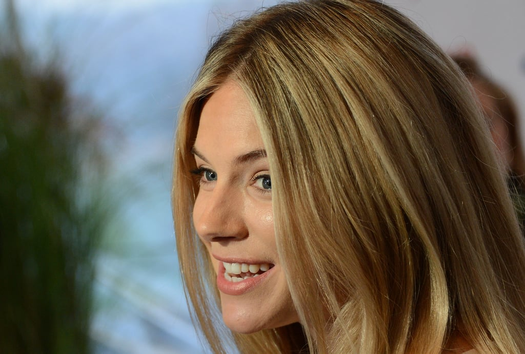 Sienna Miller attended a reception during the Hamptons International Film Festival.