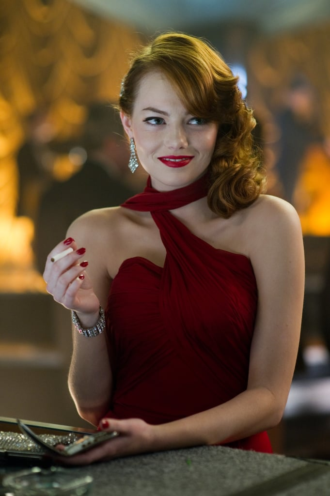 Emma Stone in Gangster Squad.