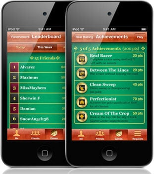 Apple Game Center For iOS 4.1