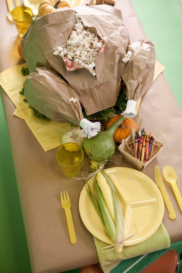 Crafts: Thanksgiving Paper-Bag Turkey
