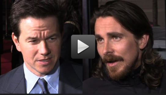 Video of Mark Wahlberg and Christian Bale at The Fighter Premiere in LA