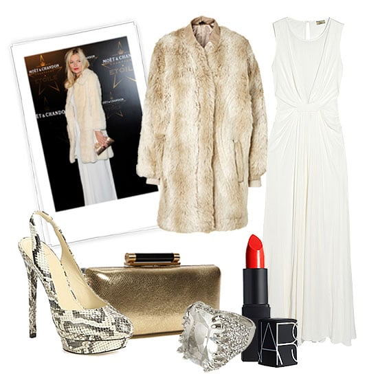 New Year's Eve Outfit Inspired by Kate Moss