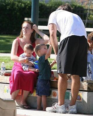 Melissa and Her Boys Heart the Park