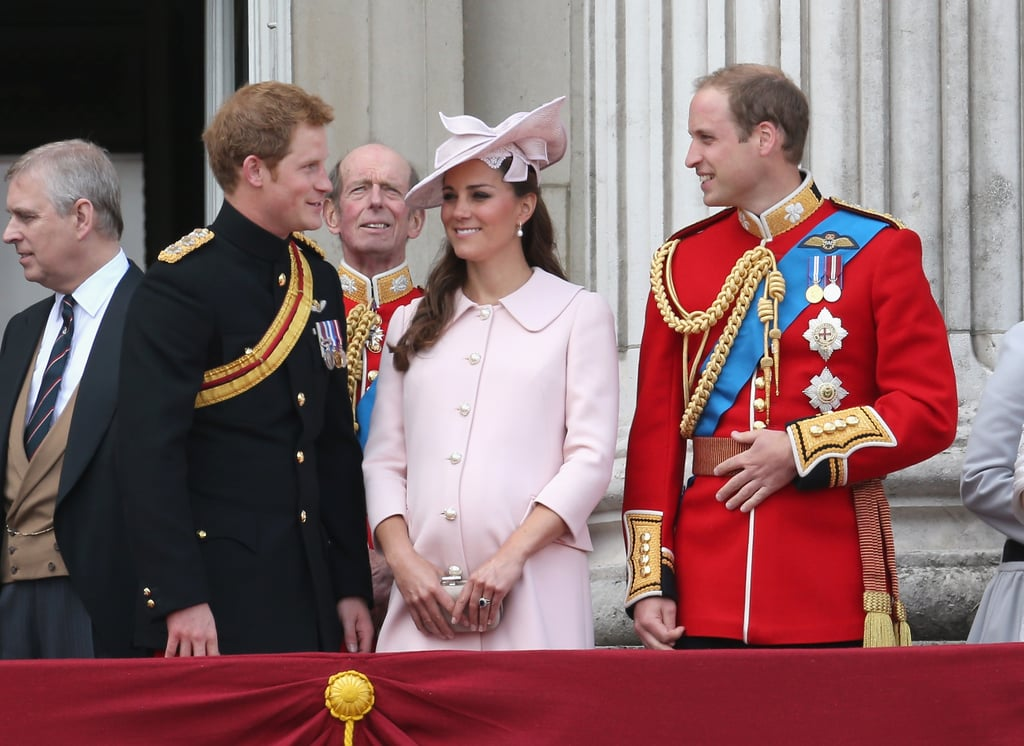 Kate Middleton joined the royal family at the annual Trooping the Colour ceremony in London on June 15.