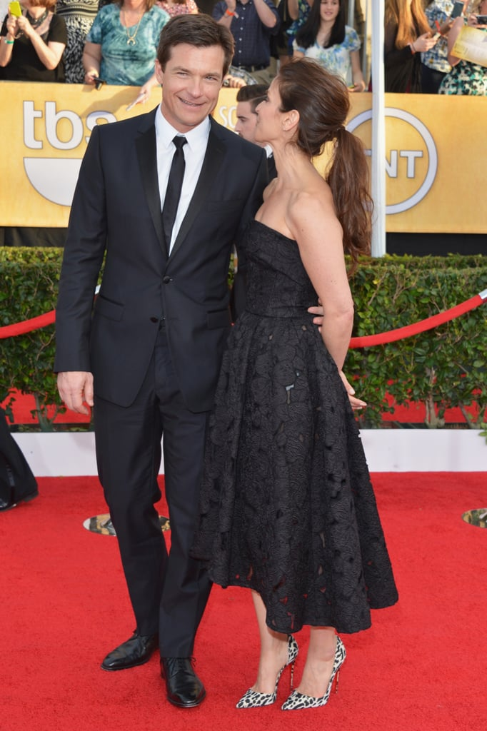 Amanda Anka only had eyes for her husband, Jason Bateman, at the SAG Awards.
