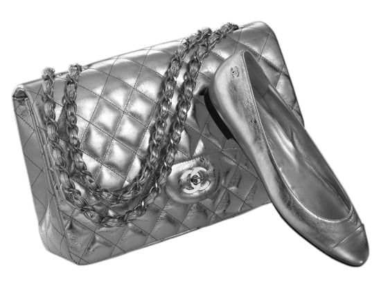 Shiny Silver Exclusives at Chanel on Robertson