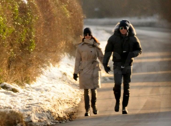 Rachel Weisz and Daniel Craig Take Their Romance Public With a PDA-Filled Stroll in Snowy England!