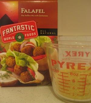 Falafel Mix:  It's Fantastic