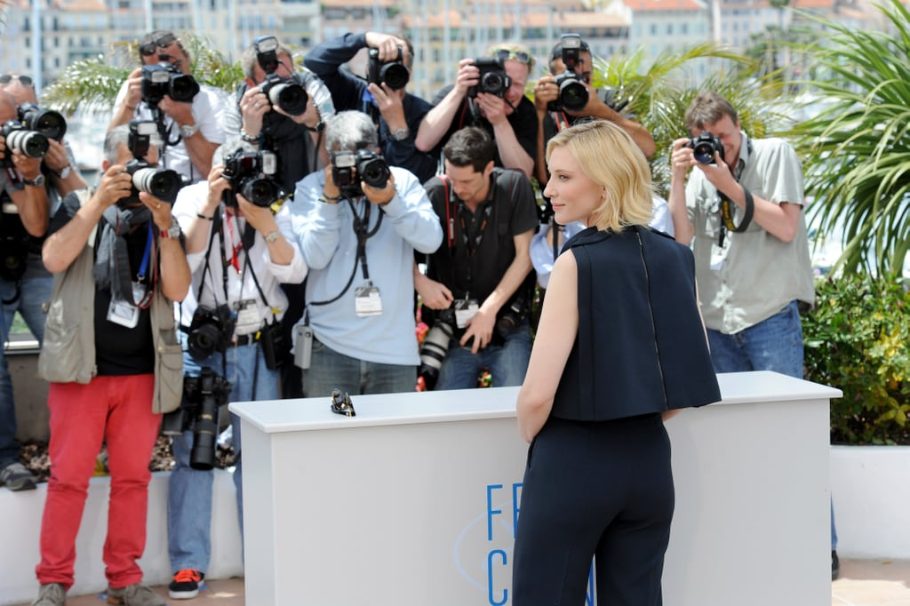 Cate Blanchett got snapped at the How to Train Your Dragon 2 photocall.