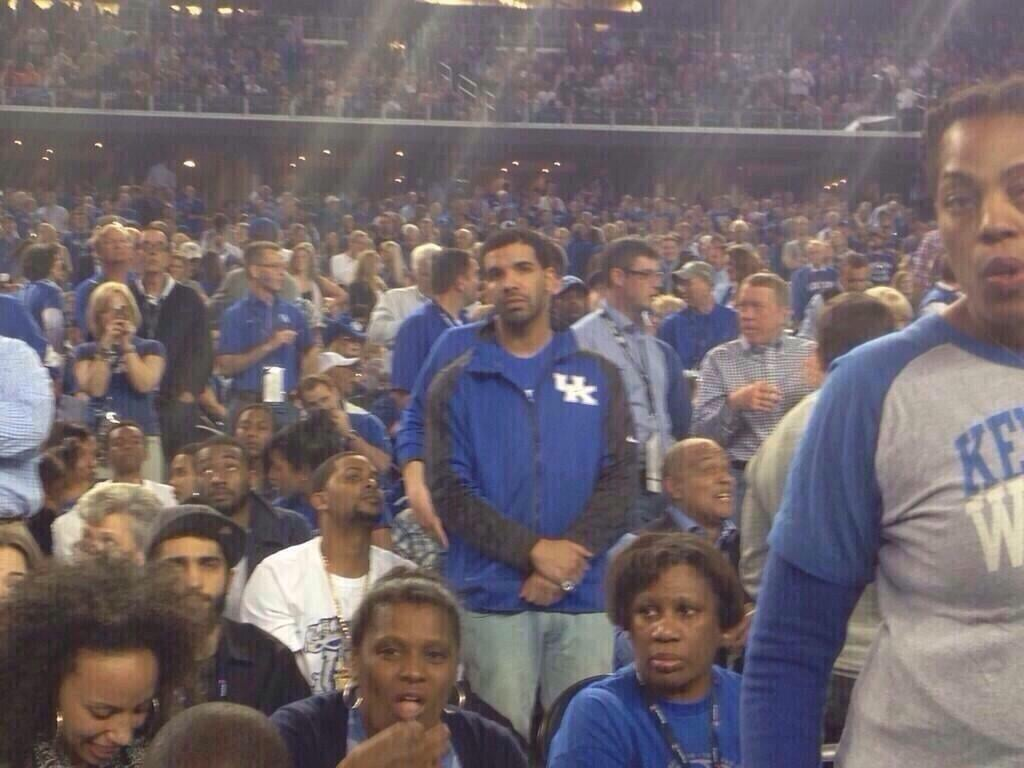 "After His Beloved Kentucky Wildcats Lost the NCAA Championship, ""Poor Drake"" Became a Thing"