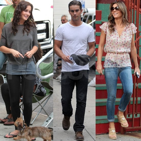 Leighton Meester Moves Past Legal Troubles on Set With Chace and Elizabeth