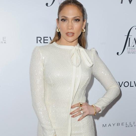Jennifer Lopez at The Daily Front Row Fashion LA Awards 2016