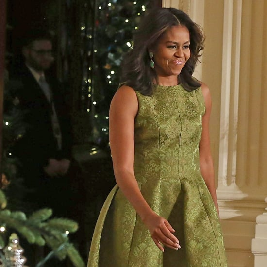 Michelle Obama Dress For the White House Holiday Decorations