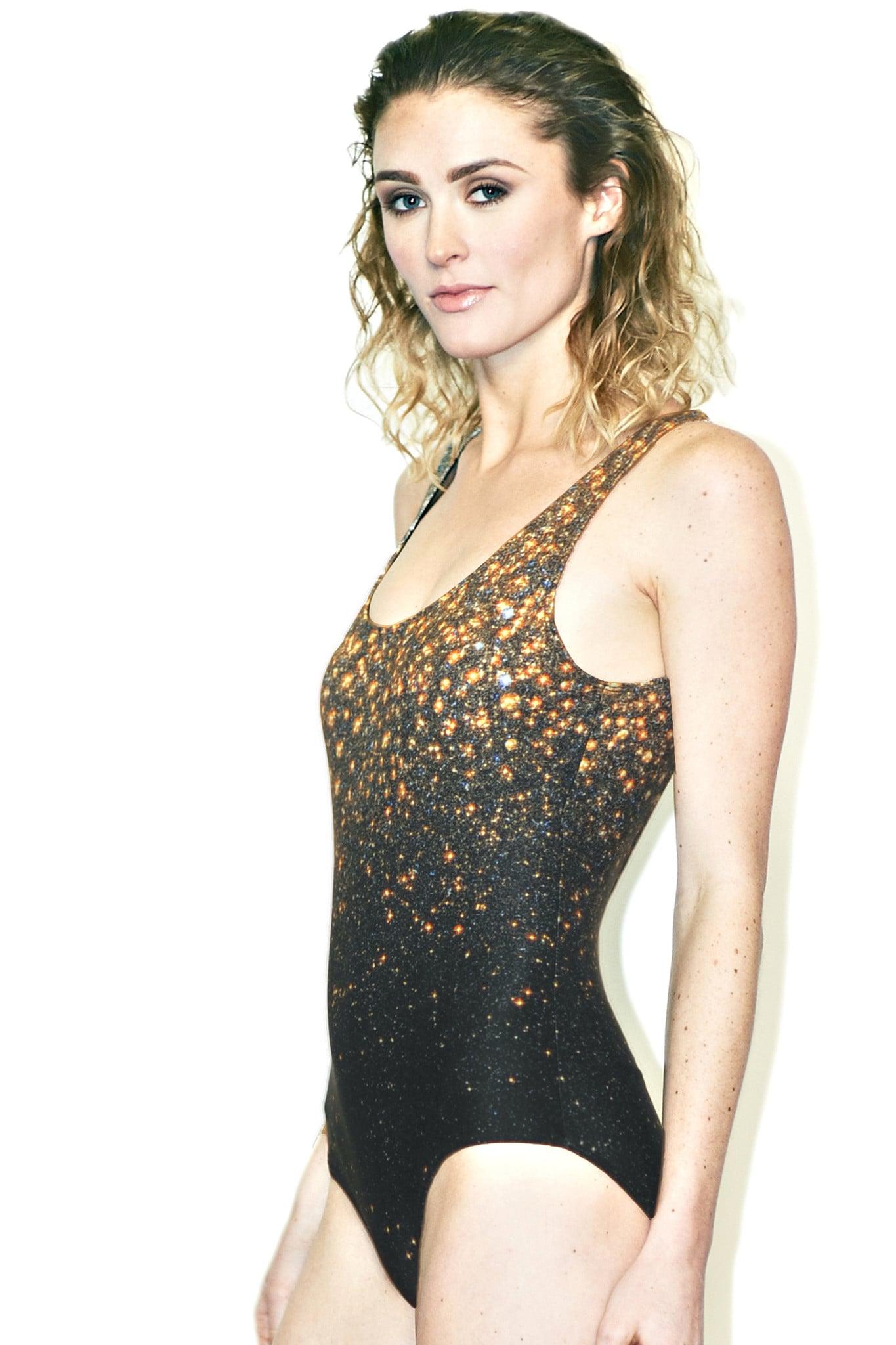 Stardust Galaxy Swimsuit ($120)