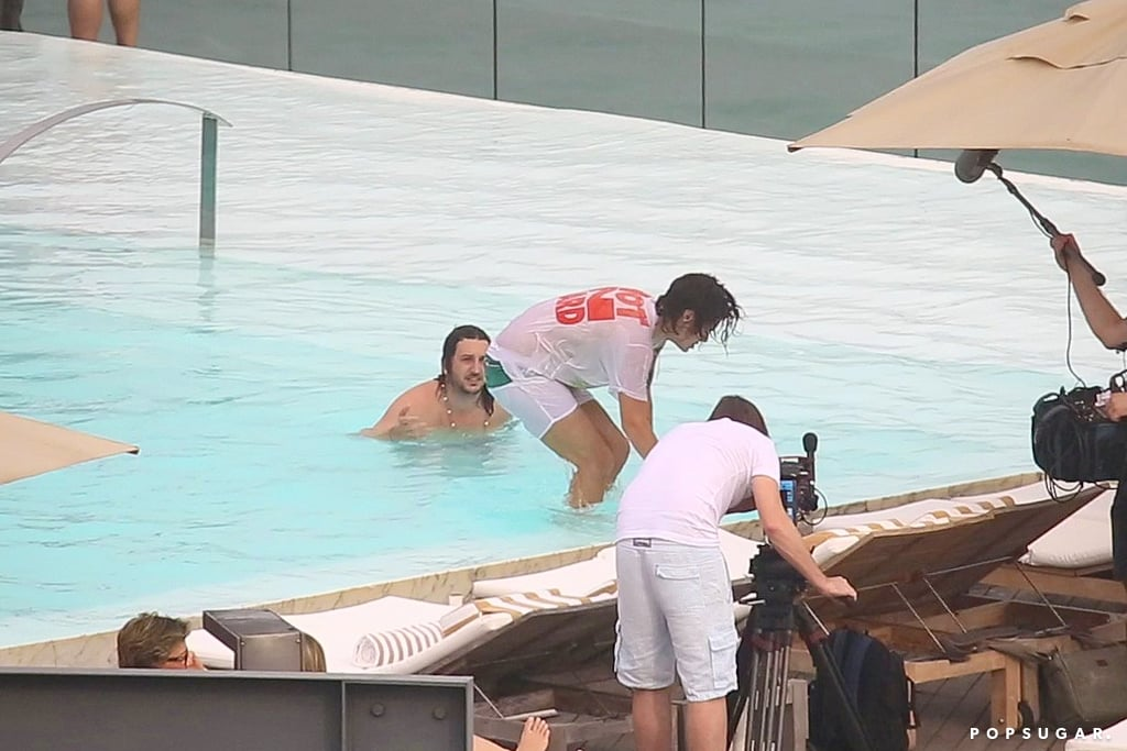 You'll Flip Out Over These Harry Styles Poolside Pictures