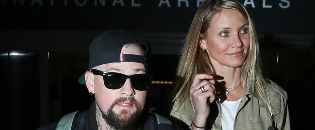Cameron Diaz and Benji Madden Hold Hands After Returning Stateside From Australia