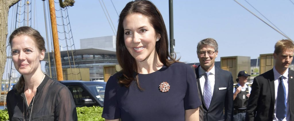 Princess Mary Gives Her Little Navy Dress a Stylish Spring Update