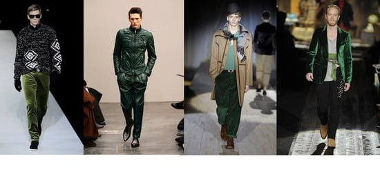 Fall 2009 Men's Trend Report: Seeing Green
