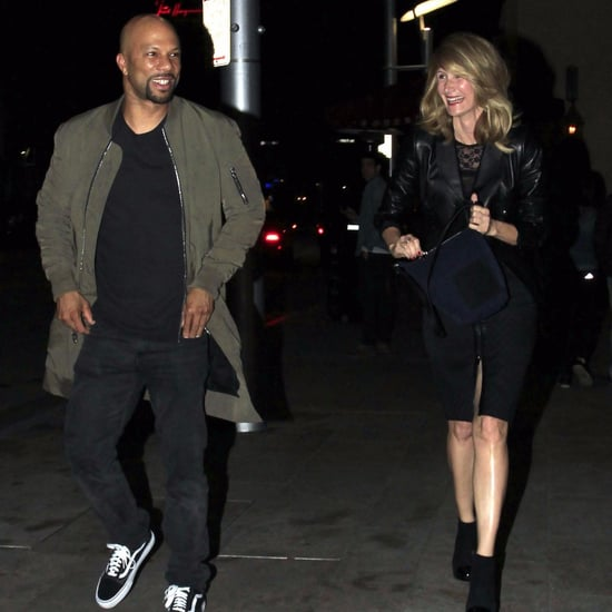Common and Laura Dern After Dinner Date Pictures 2016