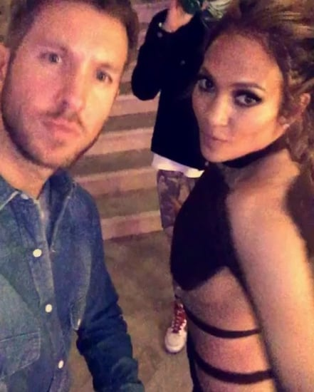 Jennifer Lopez Wears A Nearly Naked, Skintight Birthday Suit